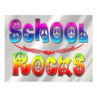 Rocas de la escuela - paz postal