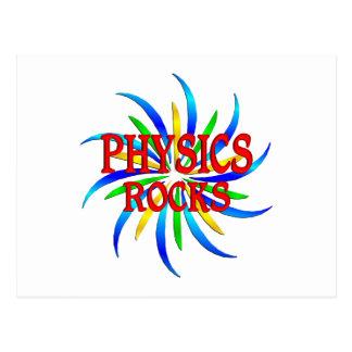 Rocas de la física postal