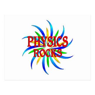 Rocas de la física postales
