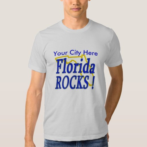 ¡Rocas de la Florida! Playeras