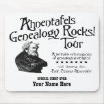 Rocas de la genealogía de Ahnentafels - personaliz Alfombrilla De Ratones