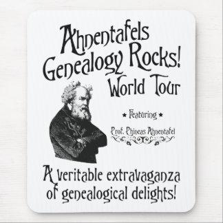 ¡Rocas de la genealogía de Ahnentafels! Viaje del  Tapetes De Ratón
