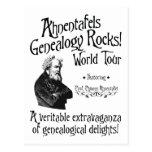 ¡Rocas de la genealogía de Ahnentafels! Viaje del  Postales