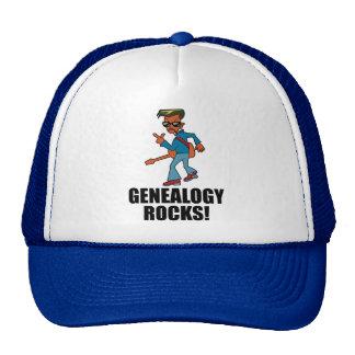 Rocas de la genealogía gorro