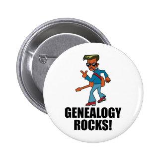 Rocas de la genealogía pins