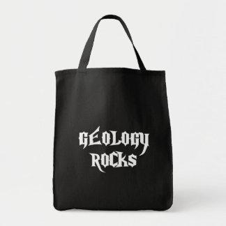 Rocas de la geología bolsa tela para la compra
