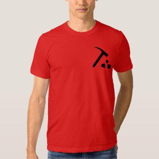 ¡Rocas de la geología! Camisas
