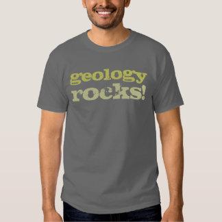 ¡rocas de la geología! camiseta oscura remeras