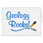 Rocas de la geología felicitación