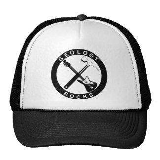 Rocas de la geología - gorra/casquillo gorras de camionero