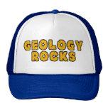 Rocas de la geología gorros