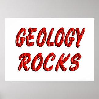 ROCAS de la geología Impresiones