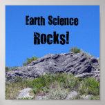 ¡Rocas de la geología! Impresiones