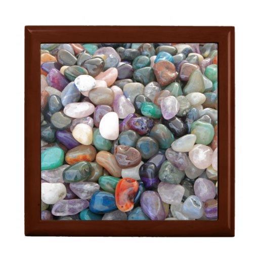¡Rocas de la geología! Joyero Cuadrado Grande