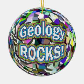 ¡ROCAS de la geología Ornamento Ornaments Para Arbol De Navidad