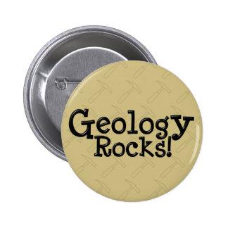 ¡Rocas de la geología! Pin Redondo De 2 Pulgadas