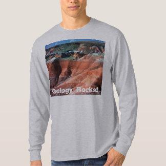¡Rocas de la geología! Playera