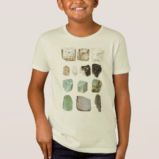 ¡Rocas de la geología! Playeras