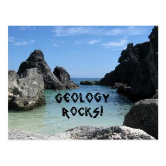 ¡Rocas de la geología! Postal