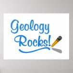 Rocas de la geología poster