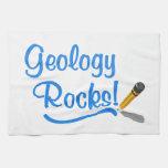 Rocas de la geología toallas de cocina