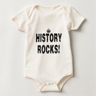 ¡ROCAS DE LA HISTORIA!   (Apenar-mirada) Mameluco De Bebé
