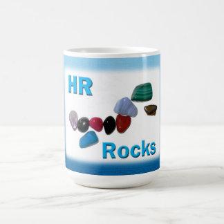 Rocas de la hora de los recursos humanos taza