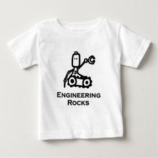 Rocas de la ingeniería del Bot del ingeniero Playera De Bebé