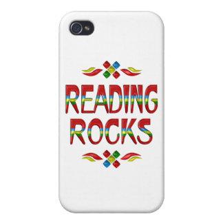 Rocas de la lectura iPhone 4/4S carcasa