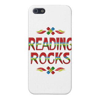 Rocas de la lectura iPhone 5 coberturas