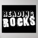Rocas de la lectura poster