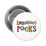 Rocas de la lingüística pins