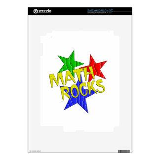 Rocas de la matemáticas calcomanía para iPad 2