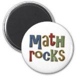 Rocas de la matemáticas imanes de nevera