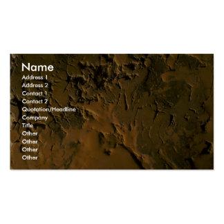 Rocas de la mina plantillas de tarjetas de visita