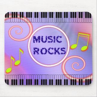 ¡Rocas de la música! Cojín de ratón Alfombrilla De Ratones
