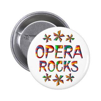 Rocas de la ópera chapa redonda 5 cm