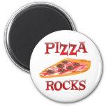 Rocas de la pizza imán