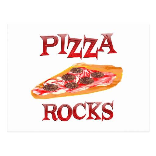 Rocas de la pizza postal