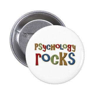 Rocas de la psicología pin redondo 5 cm