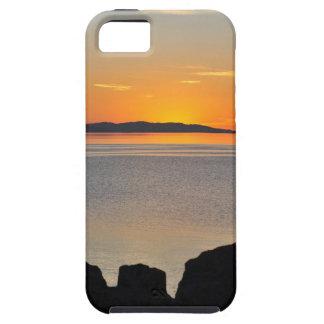 Rocas de la puesta del sol iPhone 5 funda