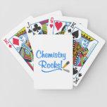 Rocas de la química baraja cartas de poker
