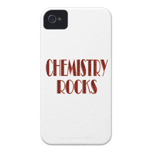 Rocas de la química iPhone 4 cárcasa