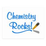 Rocas de la química postal