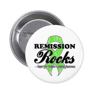 Rocas de la remisión - conciencia del linfoma de N Pins