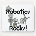 Rocas de la robótica alfombrillas de raton