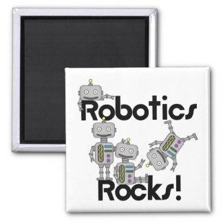 Rocas de la robótica imán cuadrado