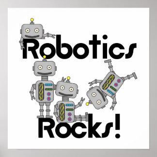 Rocas de la robótica posters