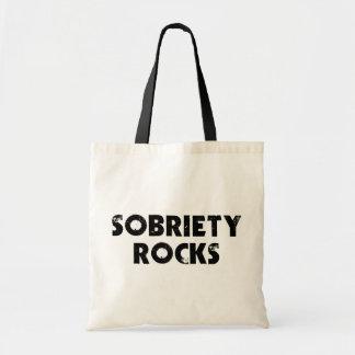 Rocas de la sobriedad bolsa