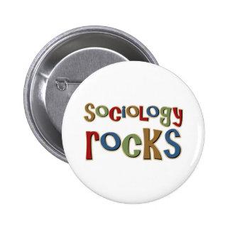 Rocas de la sociología pin redondo 5 cm